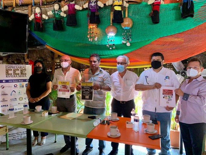 Empresarios , Riviera Maya ,exigen , autoridades garantices seguridad durante elecciones