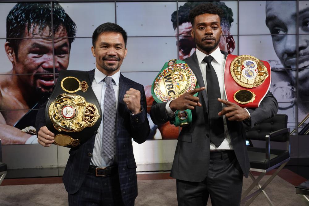 Manny Pacquiao anuncia pelea del 21 de agosto con Errol Spence Jr Foto: AP