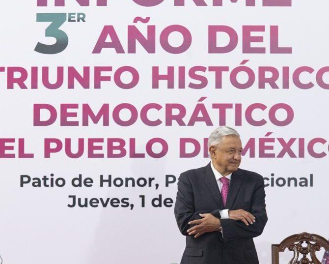 Festeja AMLO tercer aniversario del triunfo electoral