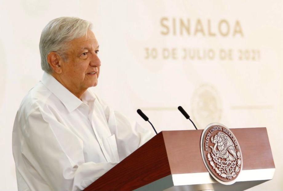 AMLO encabeza mañanera en Culiacán, Sinaloa