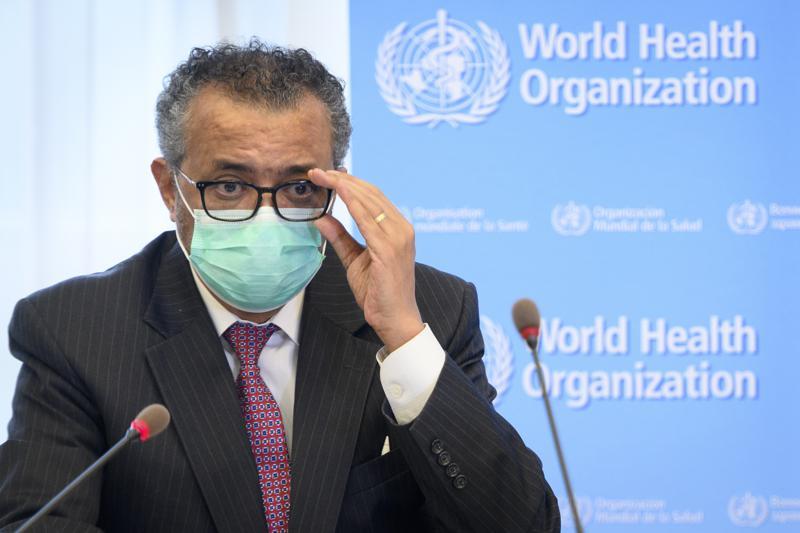 OMS: 3 millones de casos semanales de COVID en el mundo Foto: AP