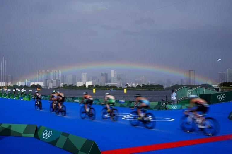 """""""Era hora"""": Creciente presencia gay en los juegos olímpicos Foto: AP"""