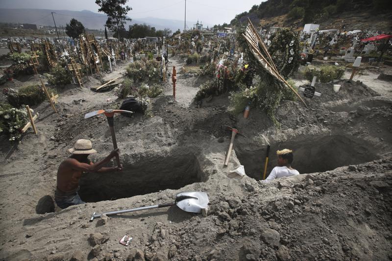 Centro de México espera pico de 3ra ola de COVID en agosto
