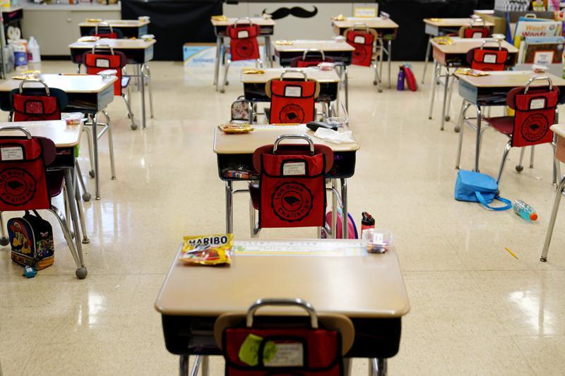 No serán necesarias las mascarillas en las escuelas de EEUU