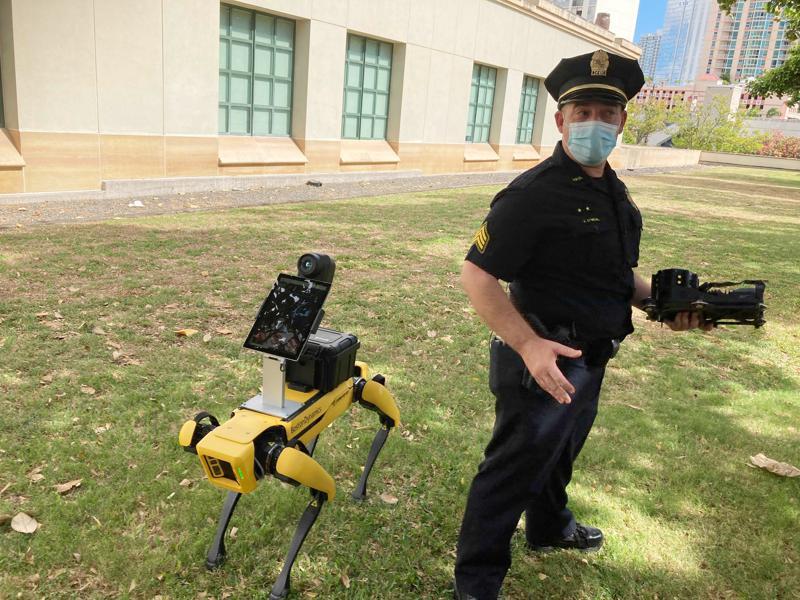Perros robot de policía: ¿máquinas útiles o deshumanizantes? Foto: AP