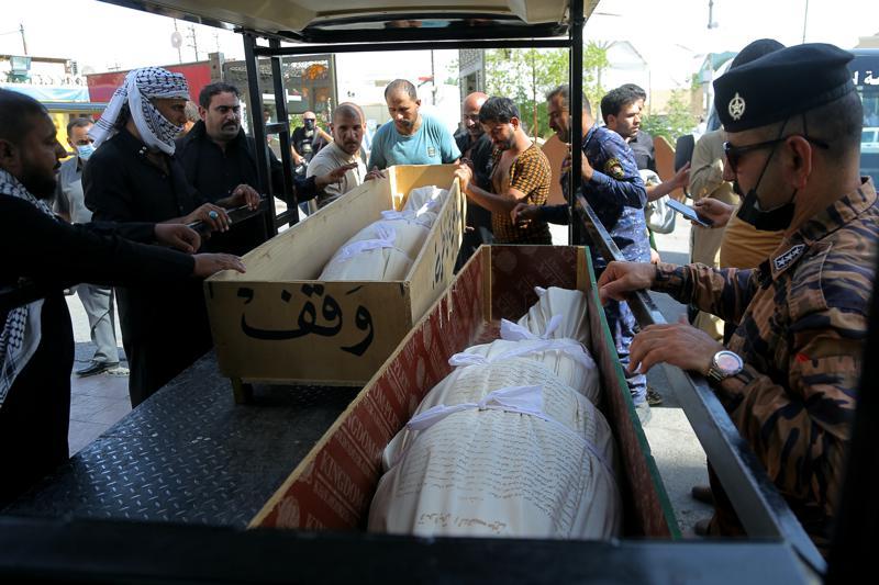 Irak: suben a 64 los muertos en incendio en hospital
