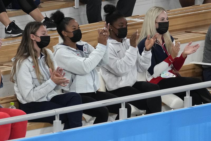 El bloqueo mental que atormenta a Simone Biles Foto: AP