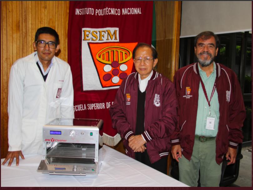 Crea IPN dispositivo de desinfección para superficies de uso diario; ayudaría a combatir propagación de Covid-19