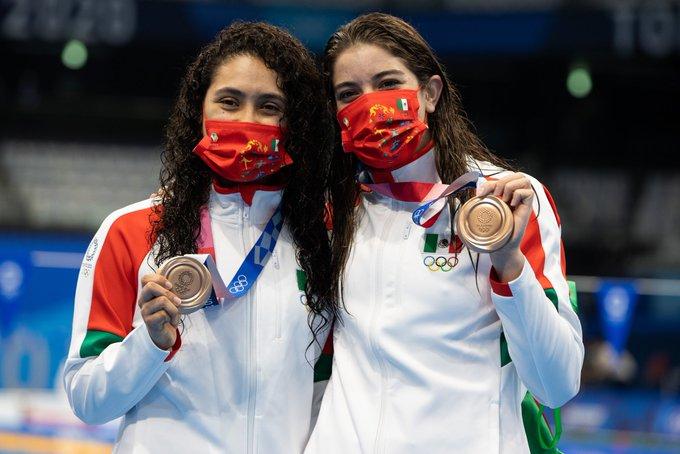 Mexicanas obtienen segunda medalla de bronce en Tokio 2020
