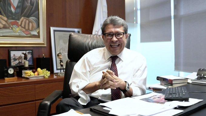 México, en la ruta correcta, asegura el senador Ricardo Monreal