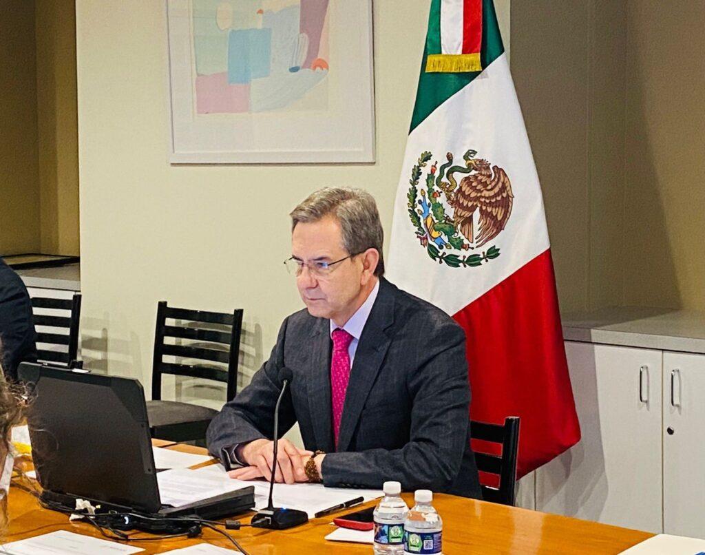 El 21 de julio se podría reabrir la frontera norte de México y EUA: Moctezuma Barragán