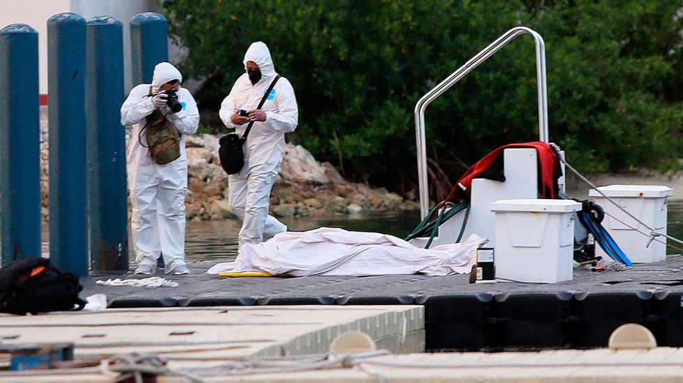Se hunde embarcación y deja 3 fallecidos, incluido un menor en Isla Mujeres
