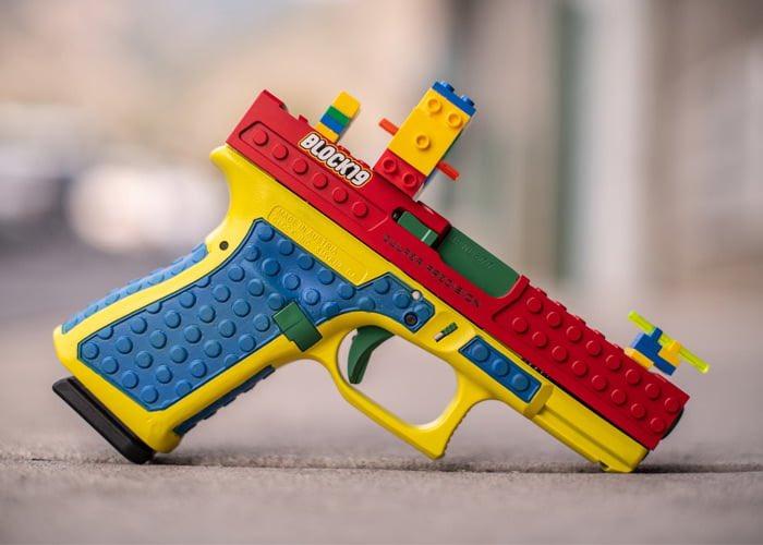 Fabricante de armas de EUA hizo una que parece de legos