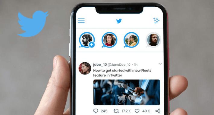 """Twitter eliminará los """"Fleets"""" desde 3 de agosto"""
