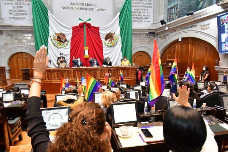 Edomex aprueba Ley de Identidad de Género que facilitará actas de nacimiento a personas trans Foto: @Legismex