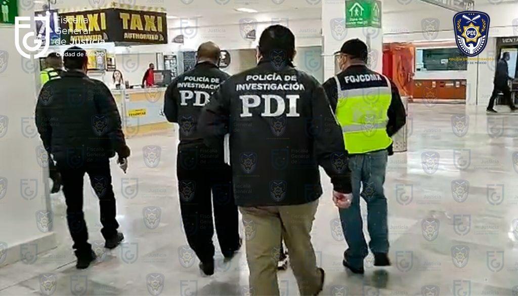 Detienen en CDMX a implicado en violación de Ainara Suárez Foto: @FiscaliaCDMX