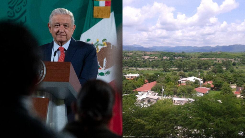 """Por tercera vez AMLO irá a Badiraguato, Sinaloa, tierra de """"El Chapo"""" Guzmán"""