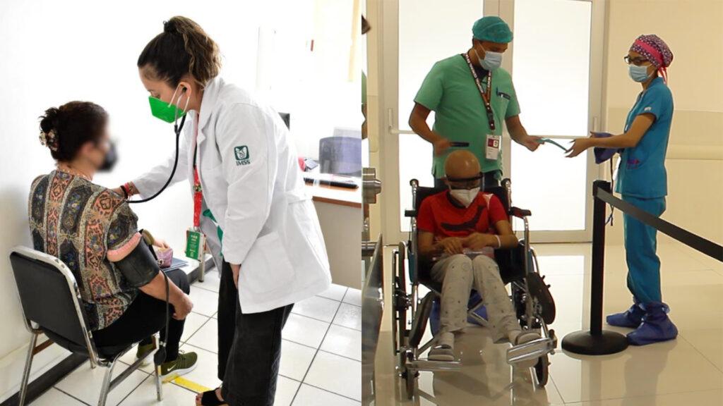 Optimizan IMSS e ISSSTE atención médica a derechohabientes