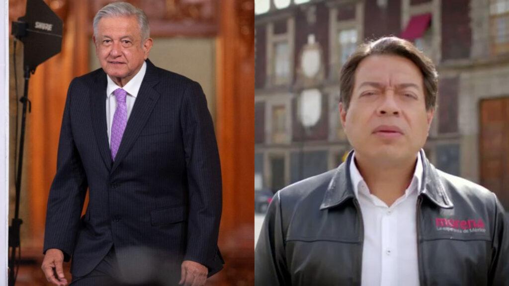 AMLO se reunió con Mario Delgado