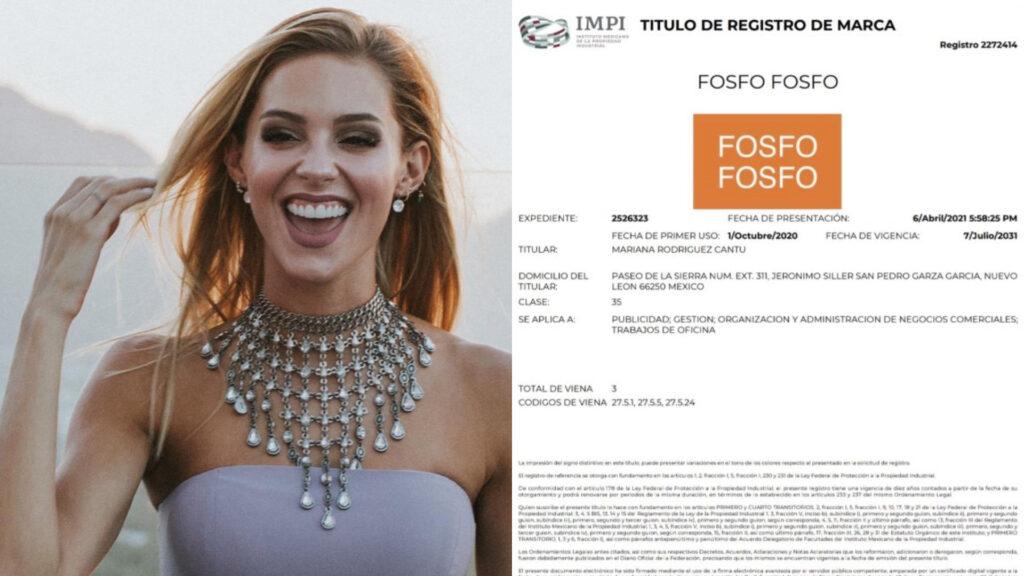 "Futura primera dama de Nuevo León registra marca ""Fosfo Fosfo"""