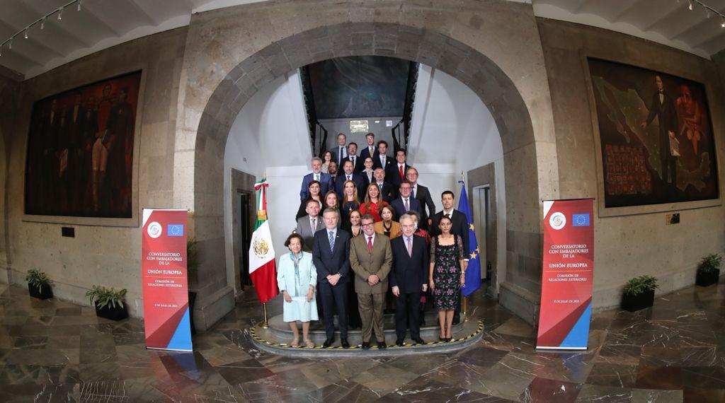 Urge Ricardo Monreal modernizar acuerdo comercial con la Unión Europea Foto: Internet
