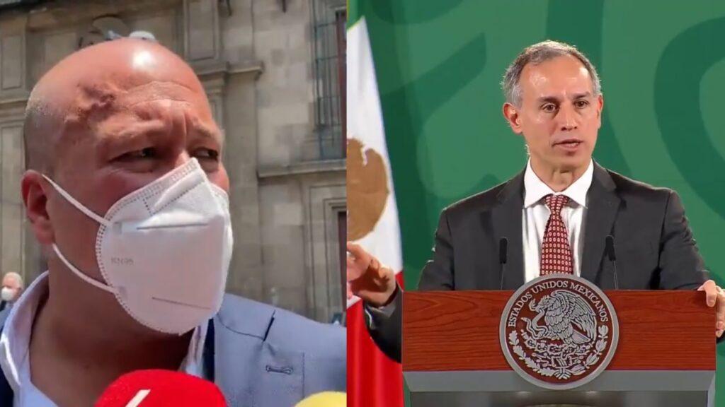 "López-Gatell ""es un absoluto irresponsable"": Alfaro Foto: Especial"