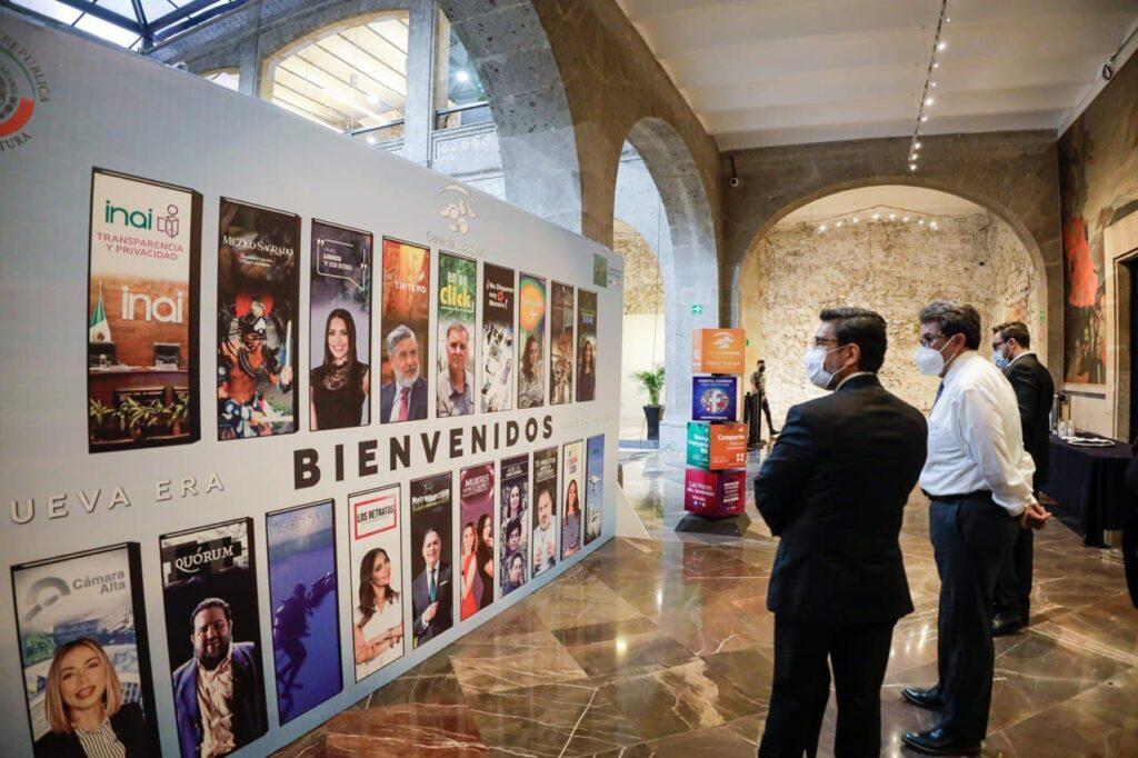 El Canal del Congreso presentan presenta su nueva imagen y producciones Foto: Internet
