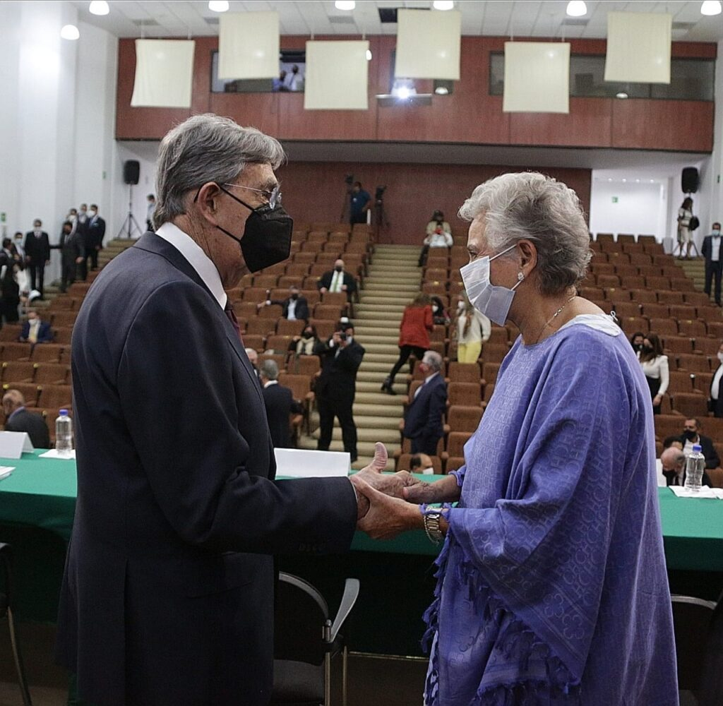 Cuauhtémoc Cárdenas demócrata rompedor de paradigmas: Olga Sánchez Cordero
