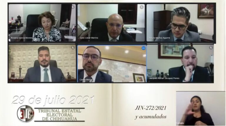 Tribunal Electoral de Chihuahua confirmó que no hubo gasto excesivo de campaña y ratifica triunfo de Maru Campos como Gobernadora Electa