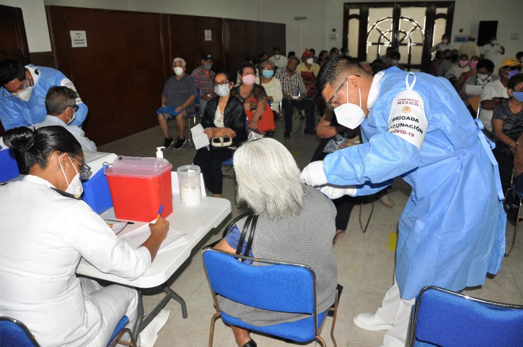 Semar ha aplicado 3,320 vacunas contra Covid-19 en Veracruz