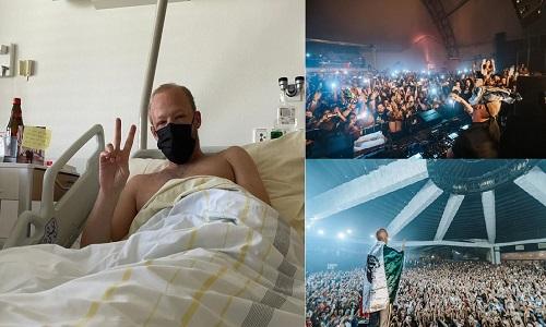 Hospitalizan al DJ Boris Brejcha tras concierto sin medidas sanitarias en Naucalpan Foto: Internet