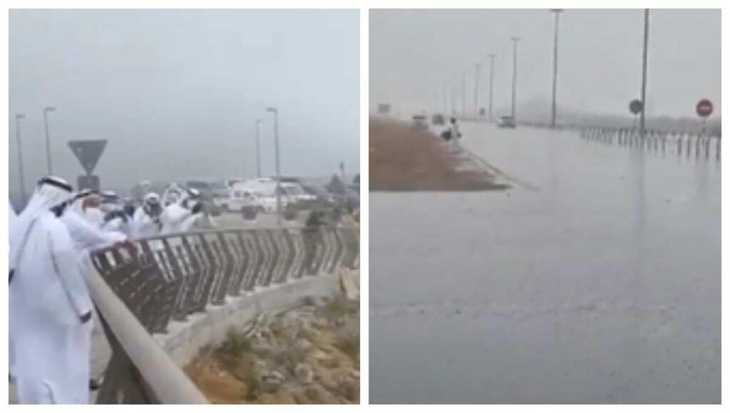 Emiratos Árabes controla ola de calor con lluvia artificial Foto: Internet