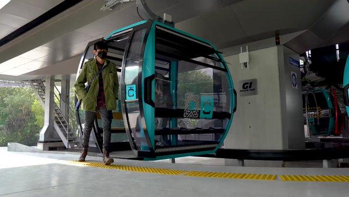 Denuncian falta de pernos en Cablebús recién inaugurado