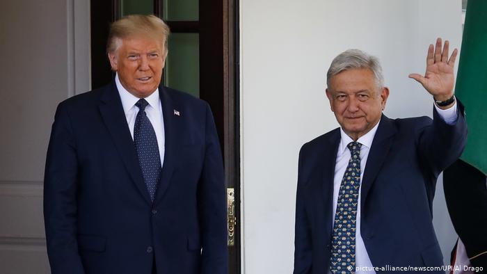 Donald Trump - AMLO Foto: Internet
