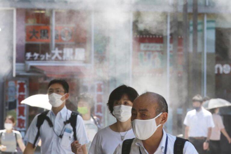 Tokio reporta un récord de 5.042 contagios en plenos Juegos Foto: AP