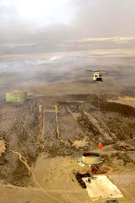 Fuertes vientos amenazan con agravar incendios en Hawai
