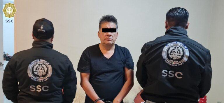 """Policía CDMX detuvo a """"El Ajá"""", líder del """"Cartel del Cigarro"""" en Gustavo A. Madero"""