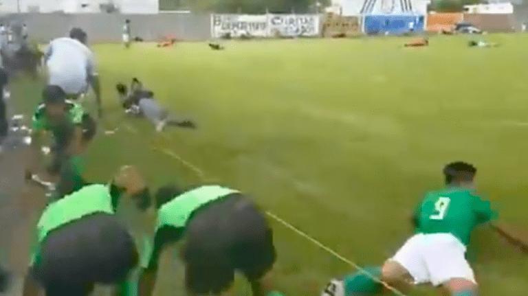 En plena cascarita se desató balacera en Guanajuato (Video)