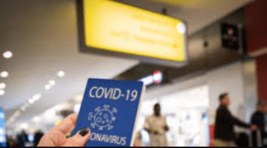pasaporte de vacunación Foto: Internet