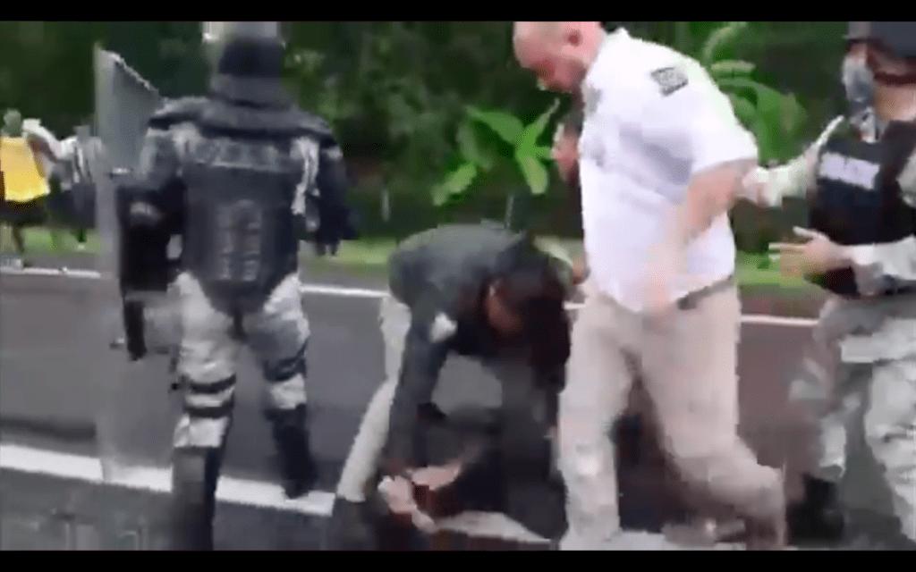 INM reprueba actos de violencia en Chiapas donde estuvieron involucrados agentes federales