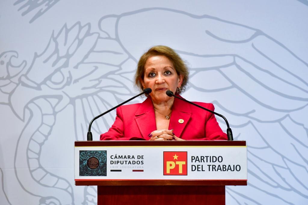 Murió por Covid, María Teresa Marú Mejía, diputada federal del PT