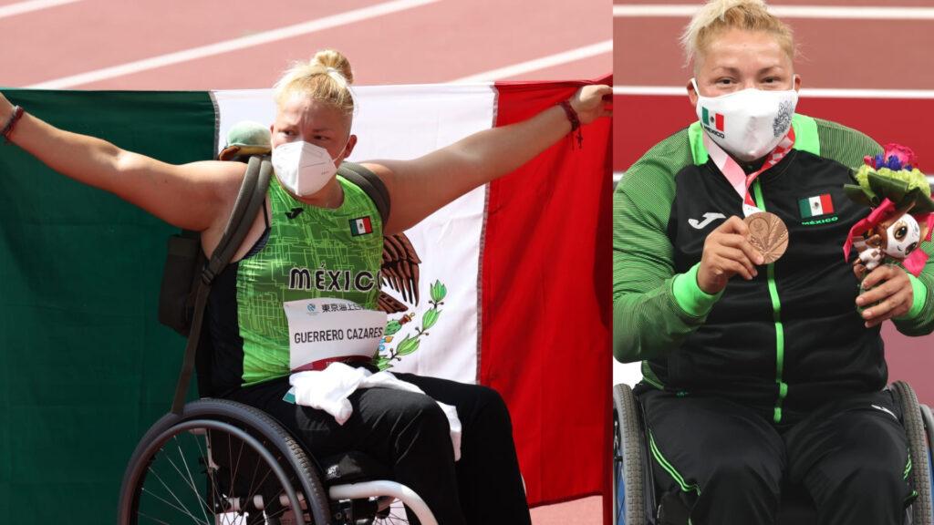 Rosa María Guerrero da la segunda medalla para México en Juegos Paralímpicos