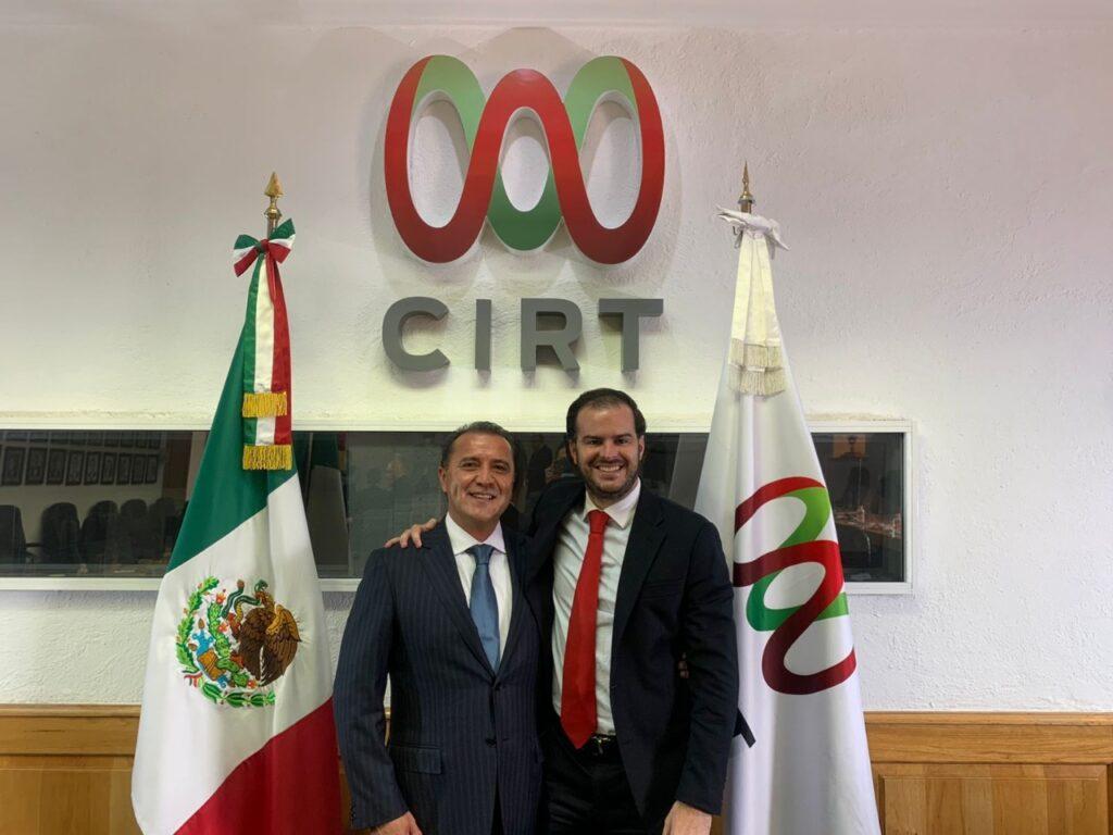 José Antonio García Herrera, nuevo presidente del Consejo Directivo de la CIRT