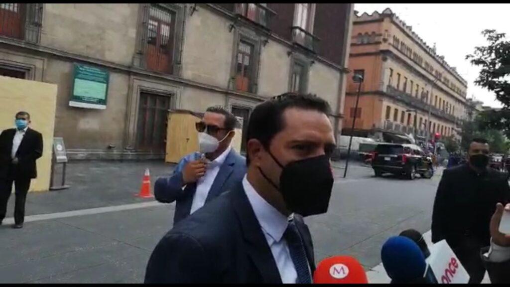 Mauricio Vila apoya pase de Guardia Nacional a SEDENA Foto: Especial