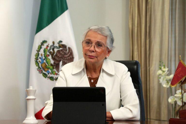 Olga Sánchez Cordero deja Segob; regresará al Senado Foto: @M_OlgaSCordero