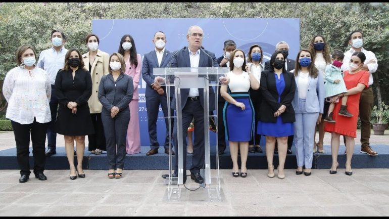 Panistas buscarán la Mesa Directiva en el Senado Foto: Internet