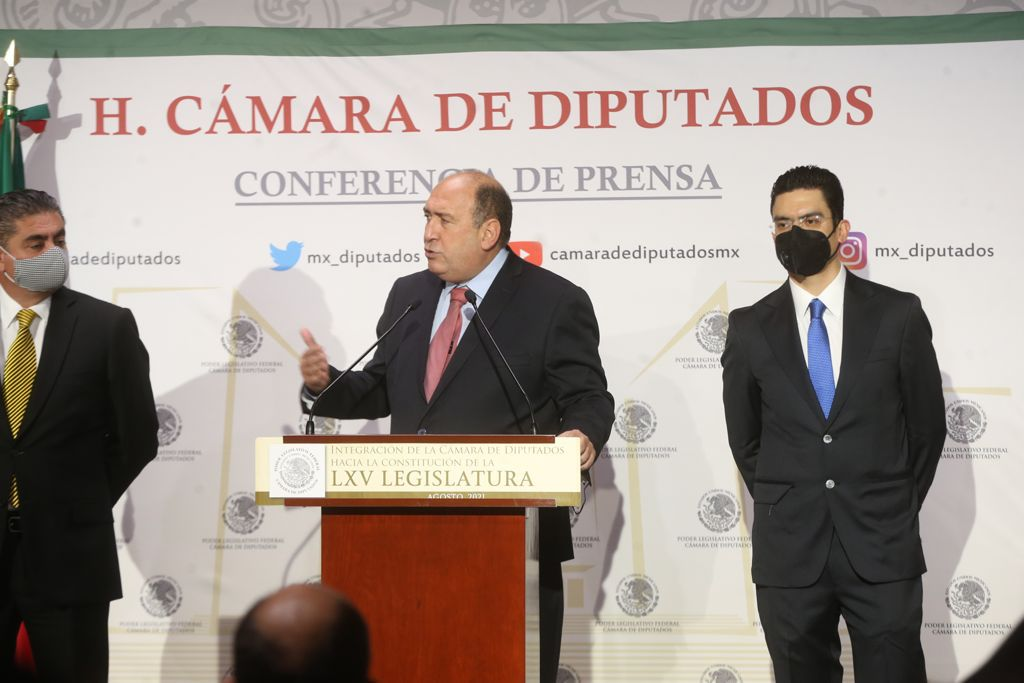 PRI encabezará Jucopo en San Lázaro con Rubén Moreira y Morena la Mesa Directiva Foto: Internet