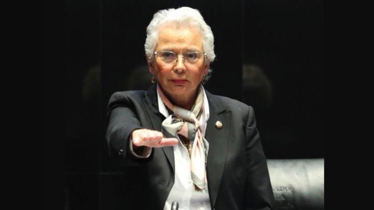 Actuará Olga Sánchez Cordero sin prejuicios de militancia en el Senado Foto: Internet
