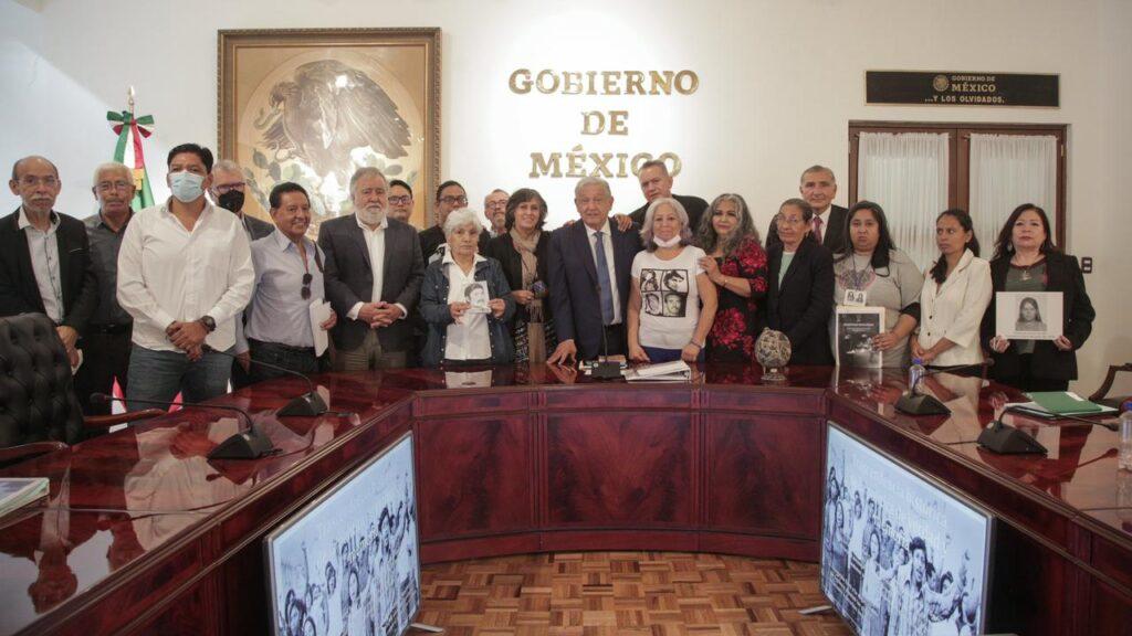 Crearán Comisión Presidencial para víctimas de desaparición forzada Foto: @lopezobrador_