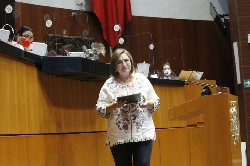 Aprueba Xóchitl Gálvez revocación a dos diputados de su partido por no pertenecer a comunidad indígena Foto: Internet